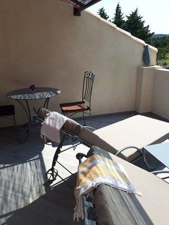 Terrasse privée Papillon