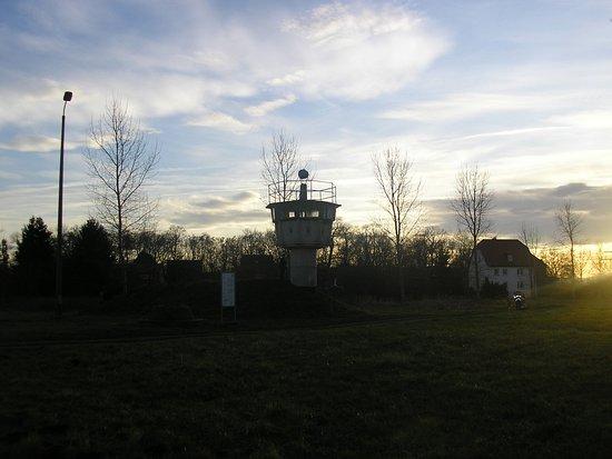 Hoetensleben, Allemagne: grenze hötensleben