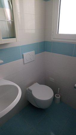 Hotel Mimosa: hotel toilet