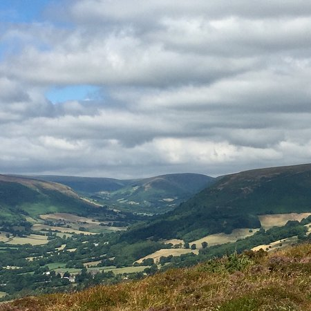 Offa's Dyke Path: Stunning countryside and Panoramic views.