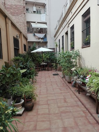The Patio Barcelona: The walk inside the compound
