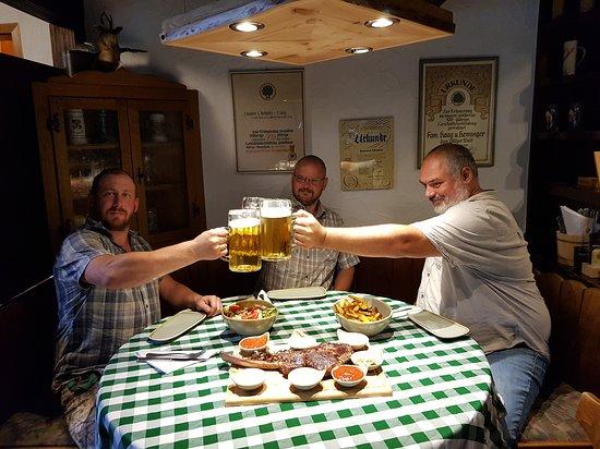 Hofstaetten, Germany: Unsere ersten Tomahawk-Tester