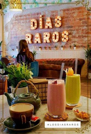 Los Dias Raros: Smoothies, infusiones