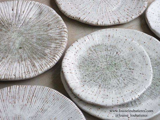 Louise Loubatieres Made and Crafted in Cambodia coral plates mixed selection