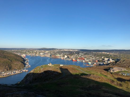 Cabot Tower: View from Signal Hill
