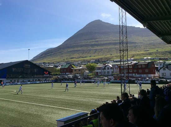 Klaksvik, Kepulauan Faroe: Great views from the ground.