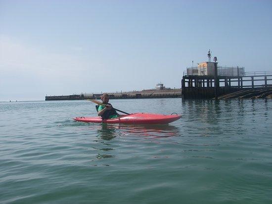 Brighton Kayak Experience: Kyle's Kayak session