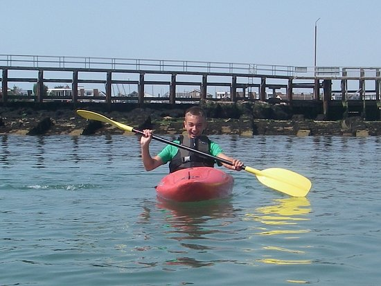 Shoreham-by-Sea, UK: Kyle's Kayak session