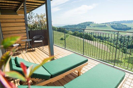 Ratsch an der Weinstrasse, Austria: Hotel Balkon