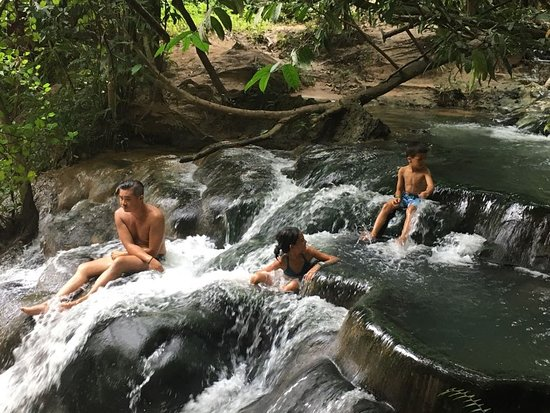 Namtok Ron (Hot Spring Waterfall ) - Khlong Thom