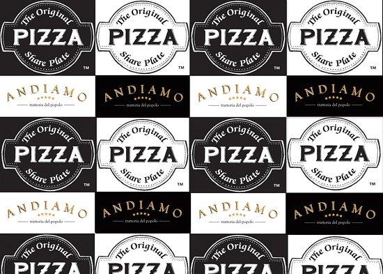 Rhodes, Australie : Pizza the Original Share Plate