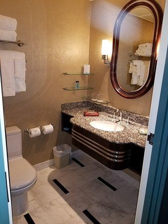 Hong Kong Disneyland: Sink And Water Closet At Disney Hollywood Hotel