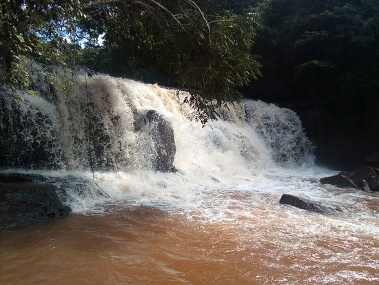 Faxinal: cachoeira das três barras