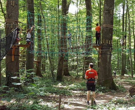 Tours, France: En plein séance d'escalade à GADAWI Park Nord ! ;)