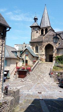 Eglise Saint Fleuret: από τα σκαλιά του κάστρου
