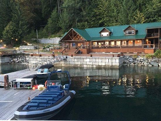 Desolation Sound, Kanada: #Homfray Lodge