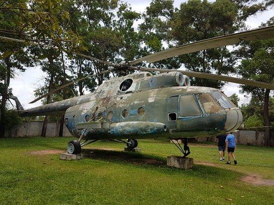 Cambodia War Remnant Museum-bild