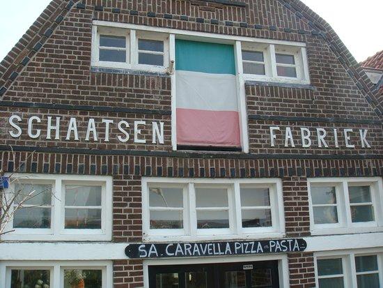 IJlst, Ολλανδία: wenig spektakulär aber Fassade mit Geschichte...