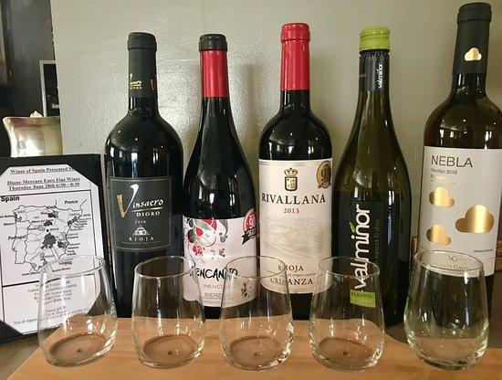 Avon, OH: Spanish Wine Flight