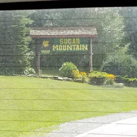 Sugar Mountain Resort: the bottom of Sugar