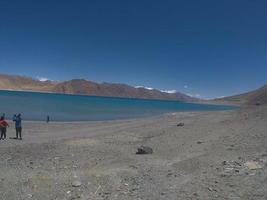 Leh District, Ấn Độ: Pangong lake