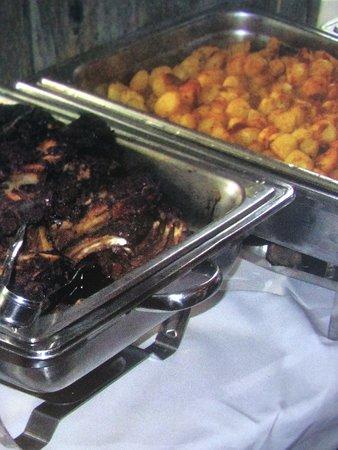 Steijl, Belanda: Warm buffet