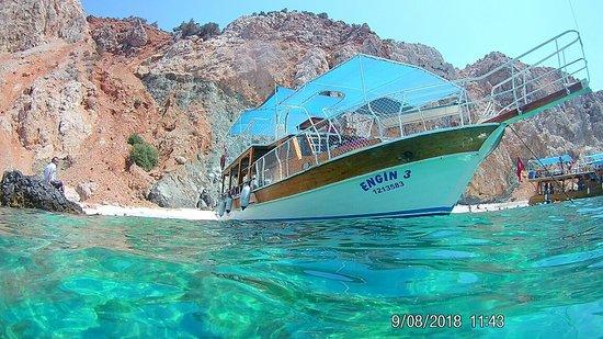 Adrasan, Türkiye: Tekne