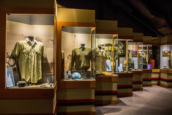 The Military Museums:   Uniforms