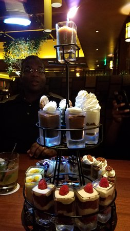Seasons 52: Dessert Tower
