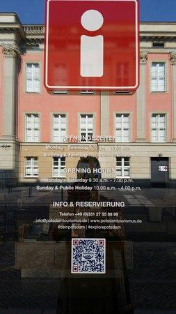 Tourist information potsdam