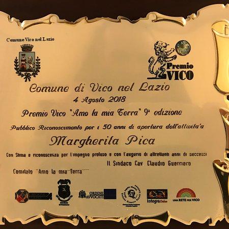Vico nel Lazio, Italie : 50 anni insieme