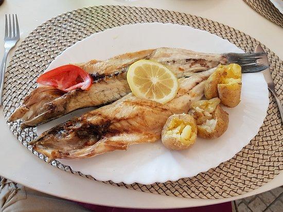 Malveira da Serra, Portugal: sea bass