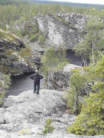 Storlien, Szwecja: Brudslöjan, vattenfall