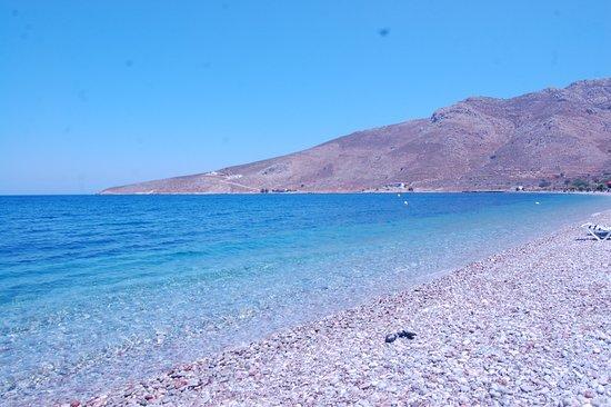 Livadia, Греция: La spiaggia