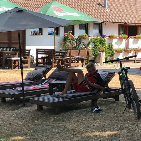 Vrane nad Vltavou, Česká republika: August 2018 - From another wonderful holiday at Matyáš.