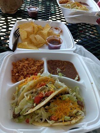 Clayton, NM: Two Taco Plates