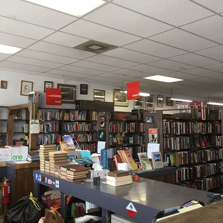 Ferndale, MI: Inside John K King Books North.