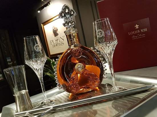 Louis Xiii Cognac Picture Of Puffin Rooms Liverpool Tripadvisor