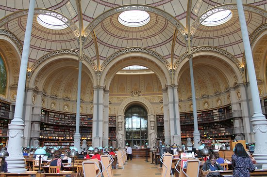 Bibliotheque Nationale de France - Richelieu Site