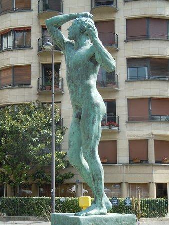 Statue l'Age d'Airain