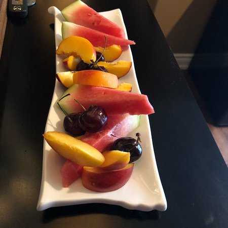 Maria's Bed and Breakfast: Fruit plate