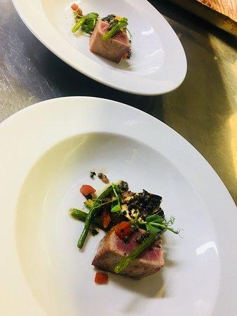 Gilmorton, UK: Sashimi tuna