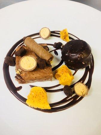 Gilmorton, UK: malteser dessert.....