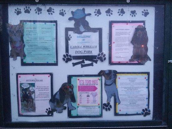 Carole Wheeler Dog Park-bild