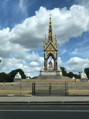 London Black Taxi Tours: Albert Memorial