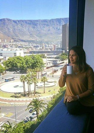 Park Inn by Radisson Cape Town Foreshore: Vista do quarto