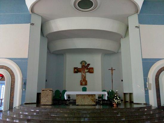 Marialva: Vista do altar