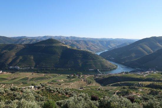 Vila Real District, Portugal: Vista sobre o Rio Douro