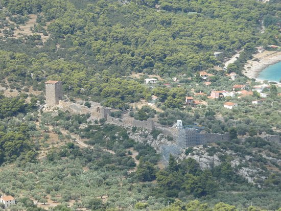 Porto Germeno, Grecja: Aigosthen Fortress from above