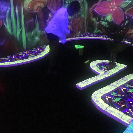 Rainforest Black Light Golf and Arcade